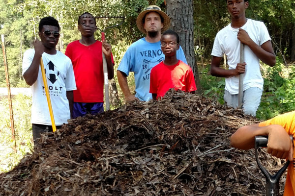 Building Compost Pile